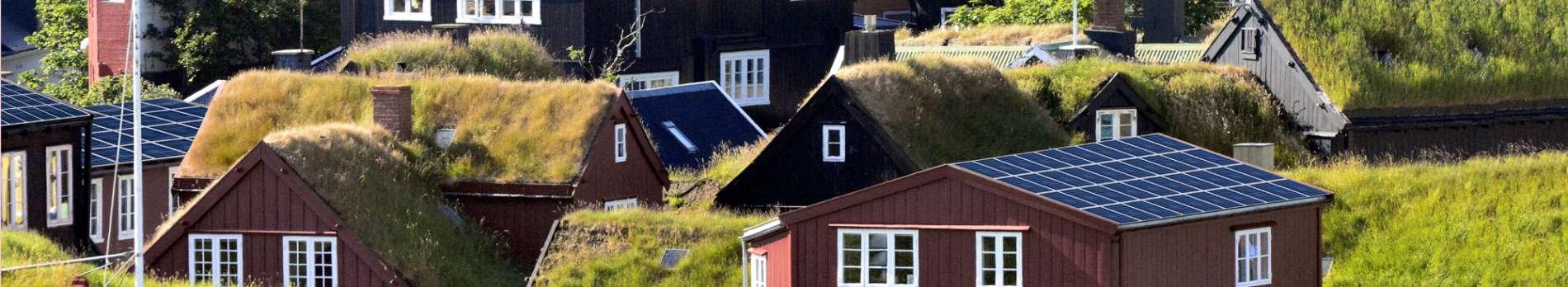 Solar-Grasdächer